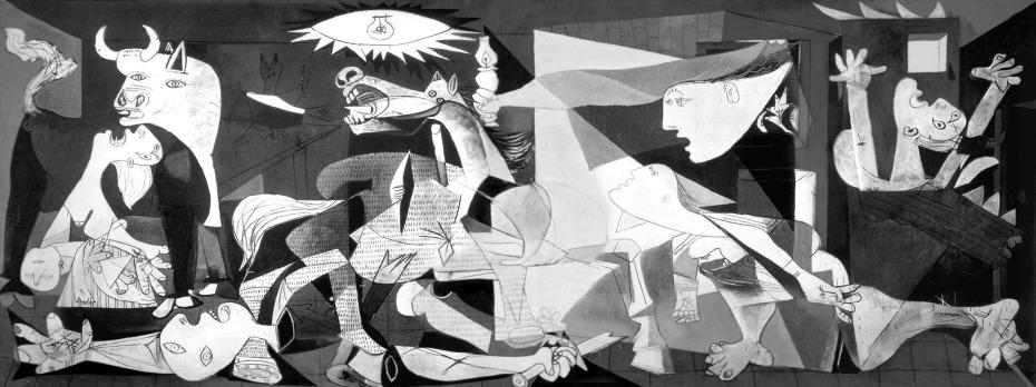 Guernica, Picasso, 1937, Museo Nacional Centro de Arte Reina Sofía